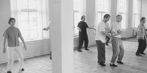 Teaching situation back in the nineties at the Danish Center for Taiji and Qigong
