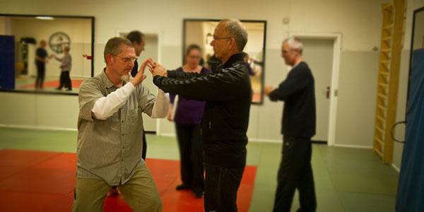 2014: Peter and Torben at Sam Tams workshop in Copenhagen.