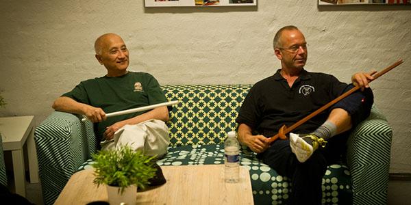 2014: Sam Tam and Torben at a workshop in Copenhagen.